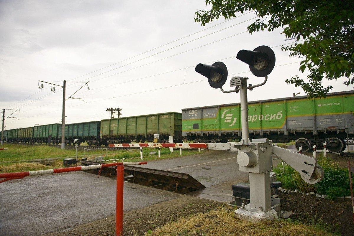 Под Краснодаром грузовой поезд сбил насмерть мужчину