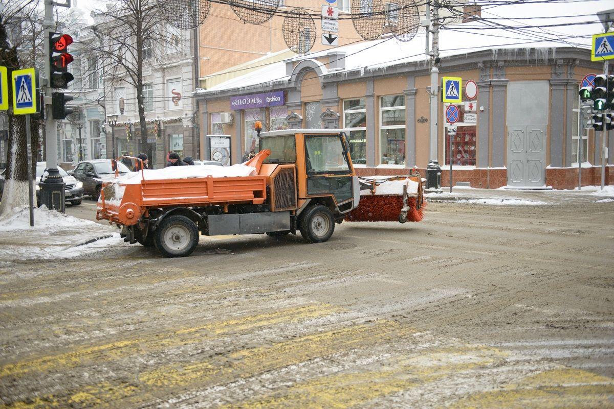 Наскользкие дороги вКраснодаре горожане могут пожаловаться вonline-режиме