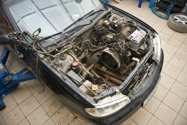 двигатель dc2d nissan
