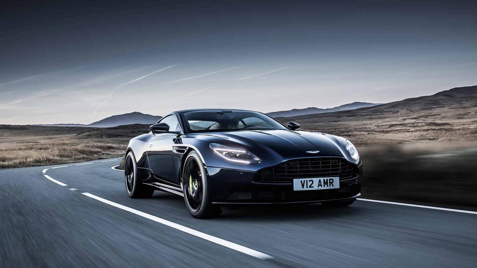 Купе Aston Martin DB11 AMR заменило обычный DB11