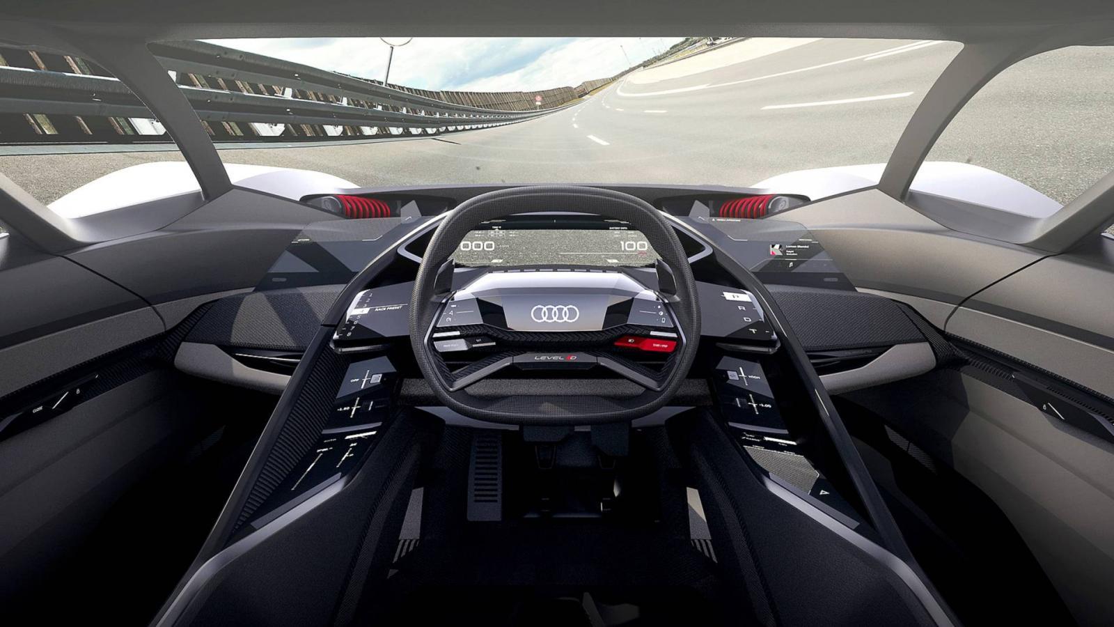 ВПеббл-Бич представили 680-сильный электрический концептуальный автомобиль Ауди PB18 e-tron
