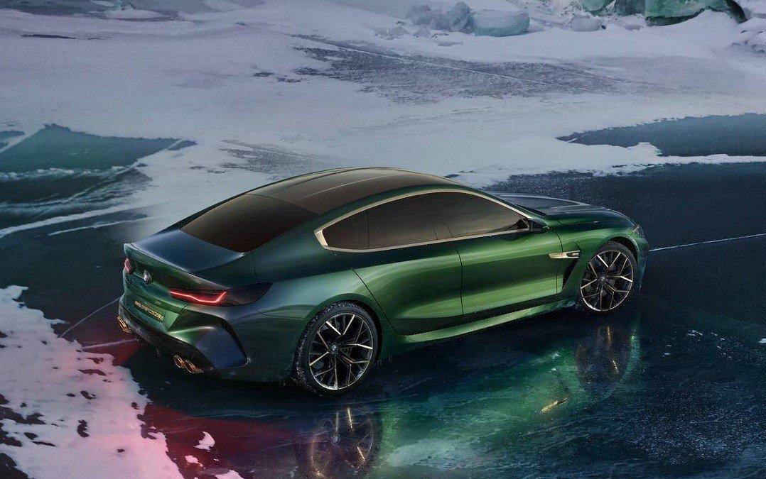 BMW M8 получил версию Gran Coupe