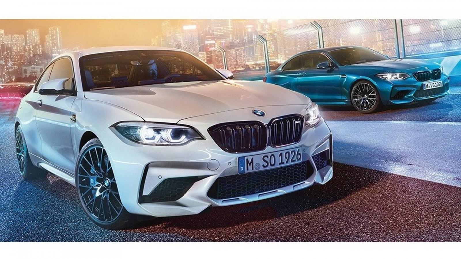 Всети появились характеристики BMW M2