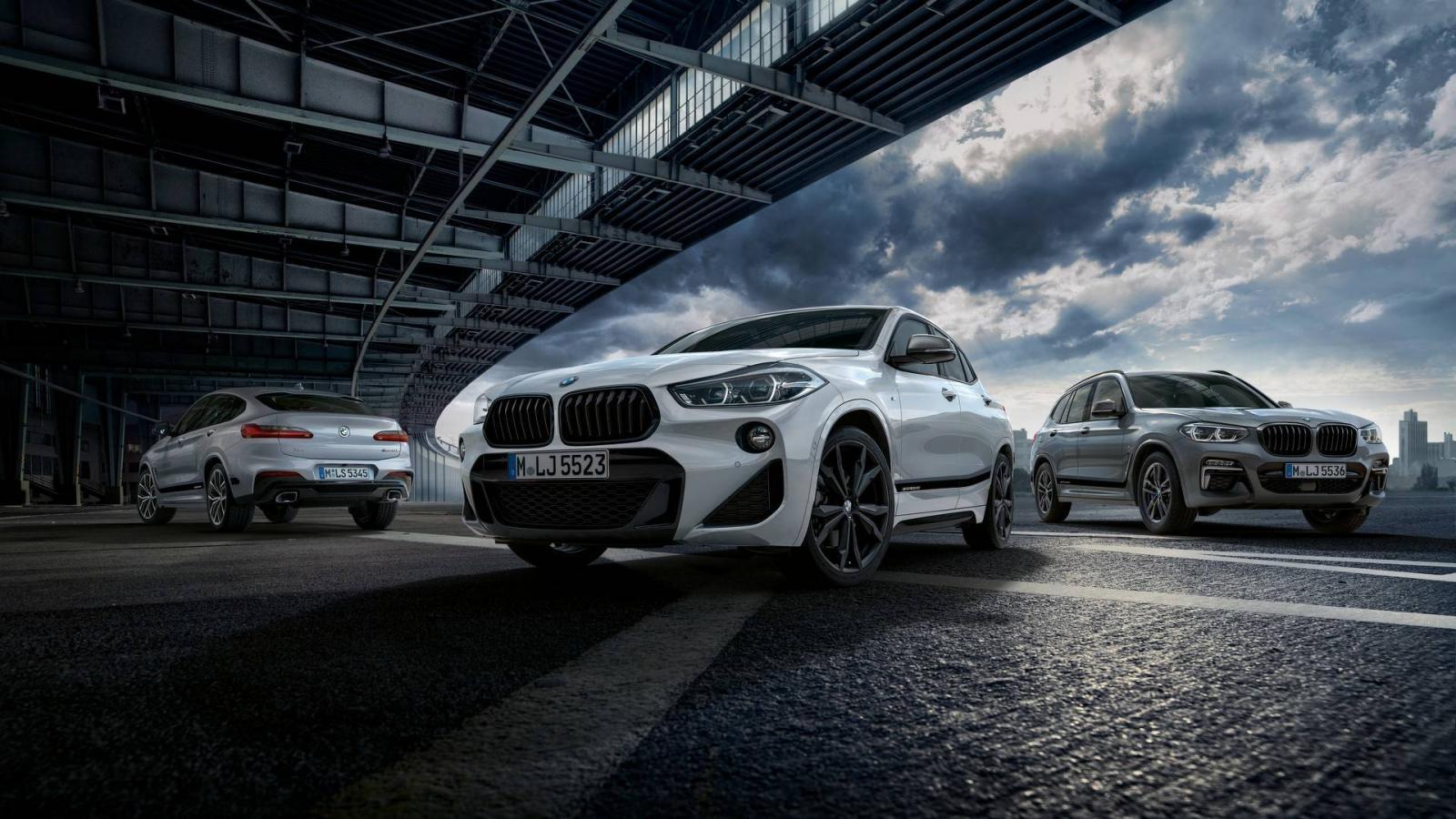 Кроссоверы BMW X2, X3 иX4 получили пакет улучшений отMPerformance