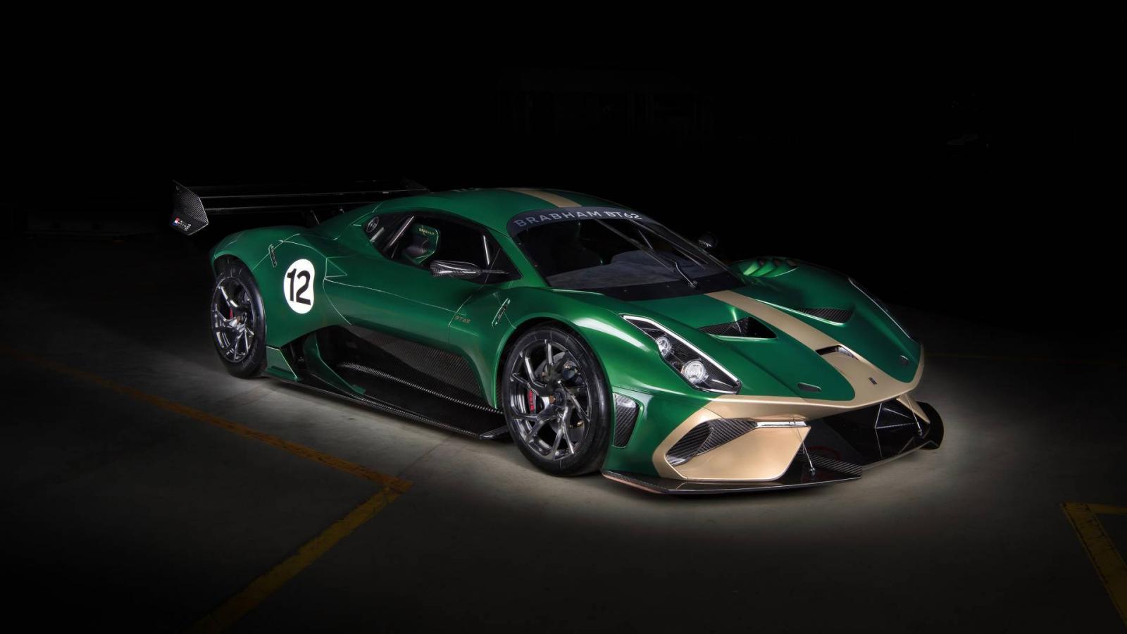 Brabham презентовала суперкар BT62 за85 млн руб.