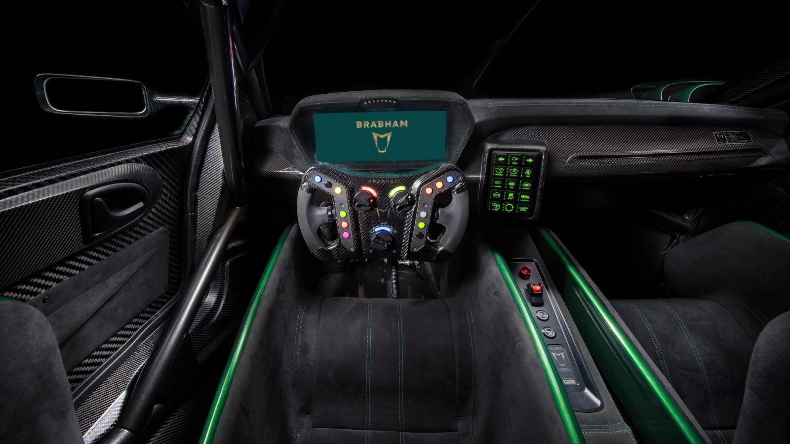 Brabham представил 710-сильный суперкар BT62