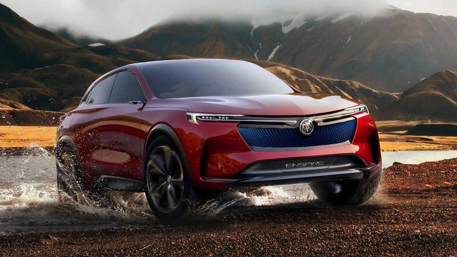 Buick показала электрический купеобразный кроссовер Enspire