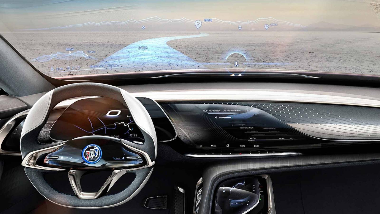 Компания Buick показала электрический кроссовер Enspire