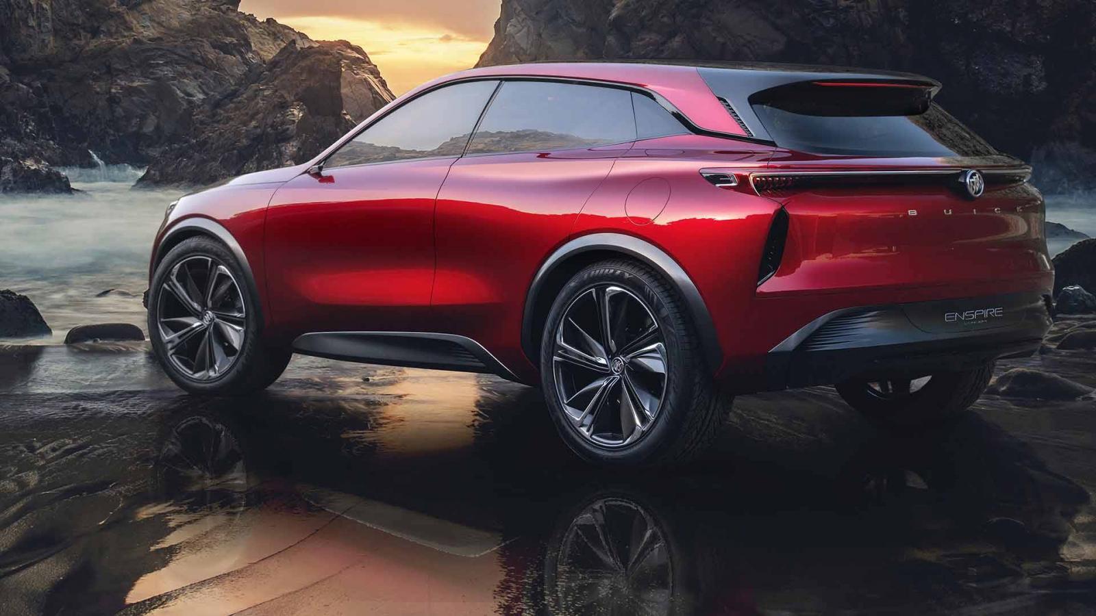 Компания Buick презентовала электрический кроссовер Enspire