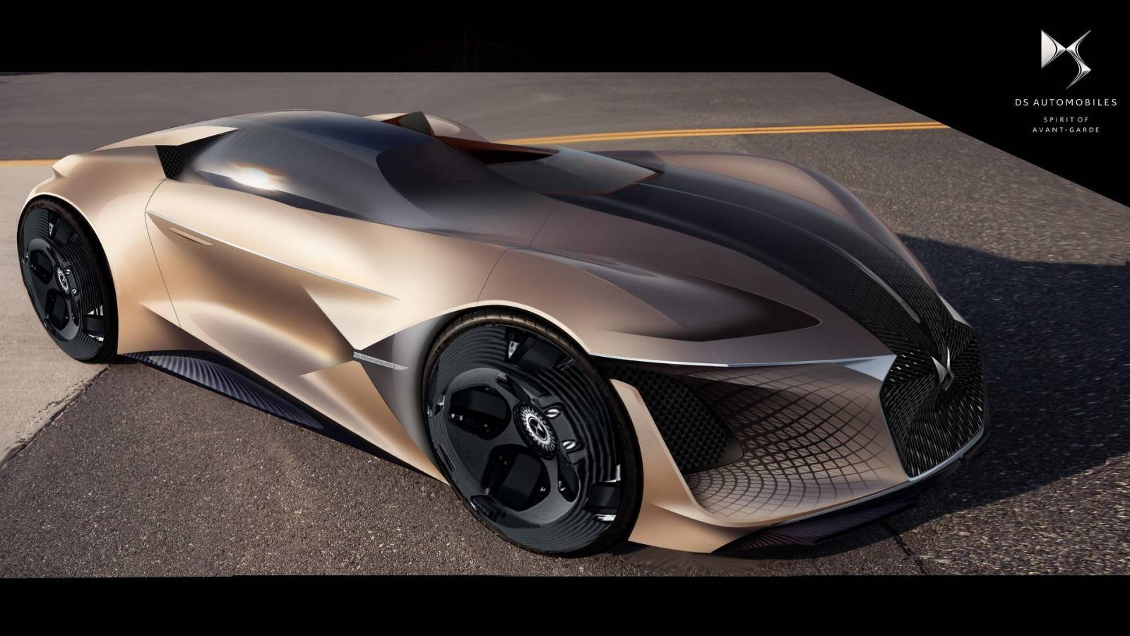 МаркаDS создала 1360-сильный карбоновый электрический спорткар