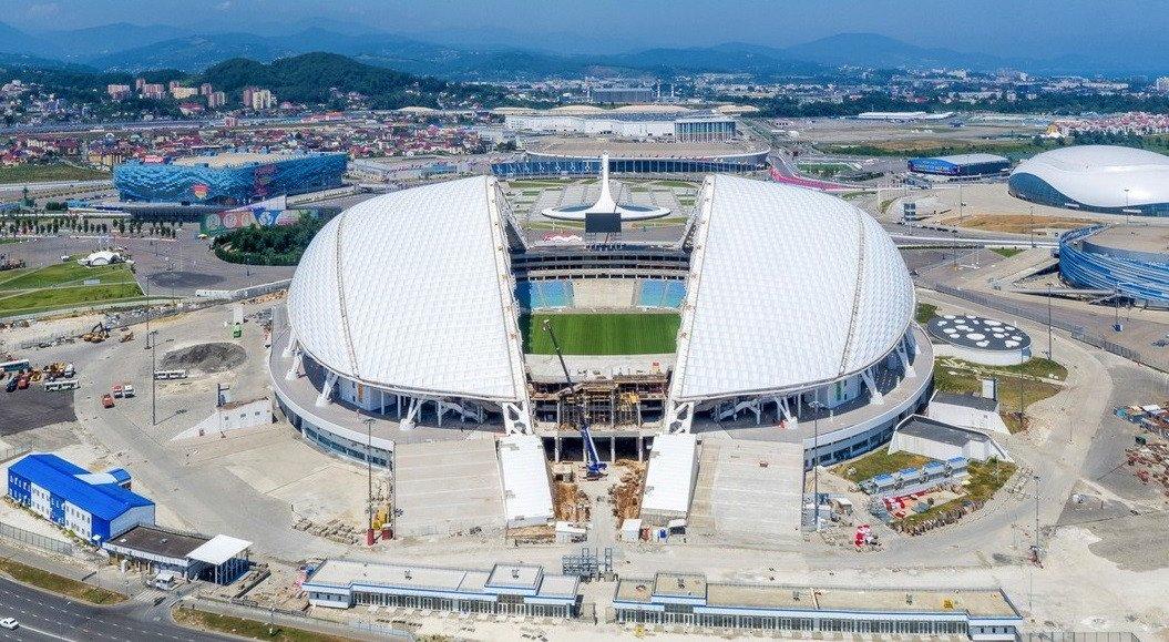 Вовремя Кубка конфедераций врайоне Олимпийского парка Сочи ограничат движение транспорта