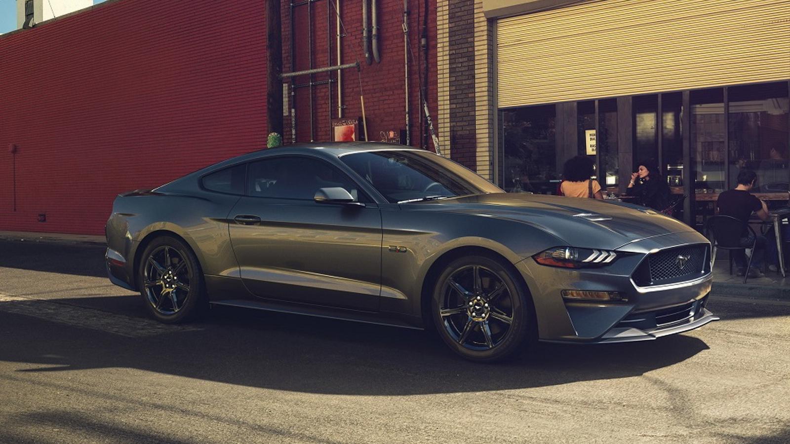 Рестайлинговый Форд Mustang показали навидео