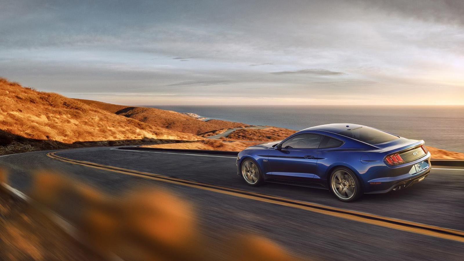 Улучшенный Форд Mustang получил 10-ступенчатый автомат