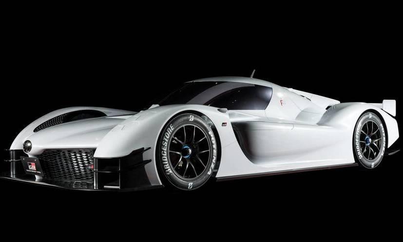 Тоёта представила 1000-сильный гибридный суперкарGR Super Sport Concept