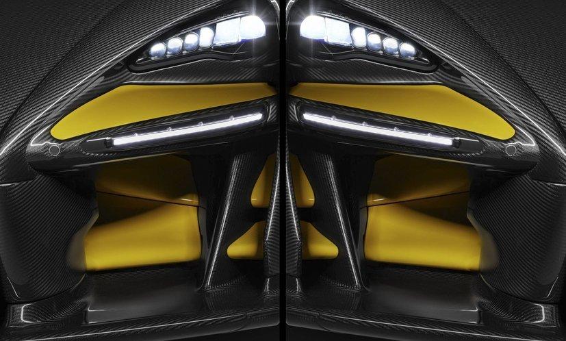Мак Ларен продемонстрировал карбоновый вариант гиперкара Senna