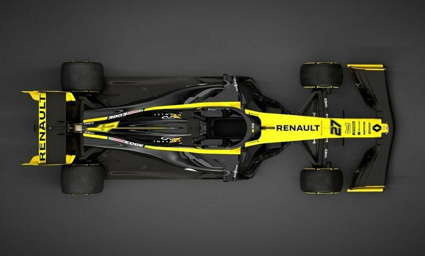 «Рено» представила болид нановый сезон «Формулы-1»