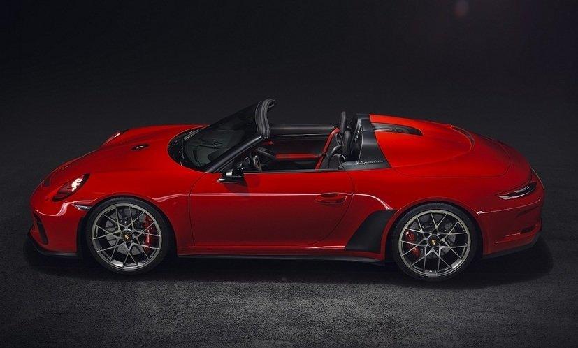Юбилейный спидстер Порше 911 Speedster выпустят ограниченным тиражом