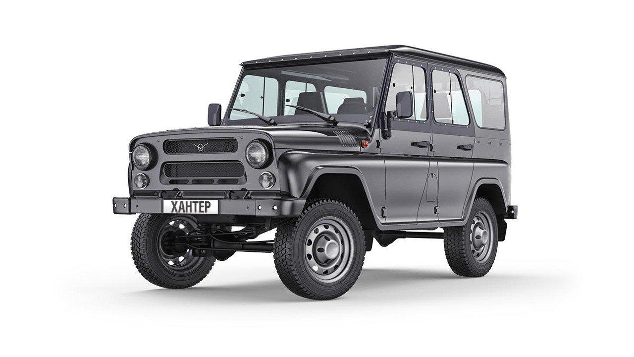 «УАЗ» начнет выпуск новых версий собственных джипов для экспортных рынков