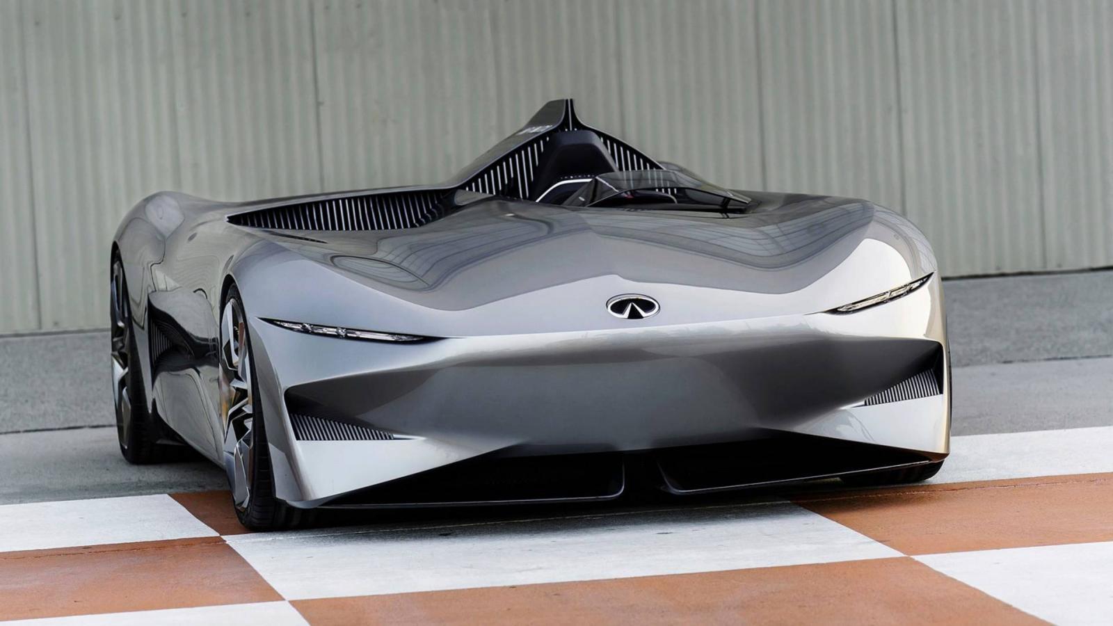 Инфинити показала новый электрический концептуальный автомобиль