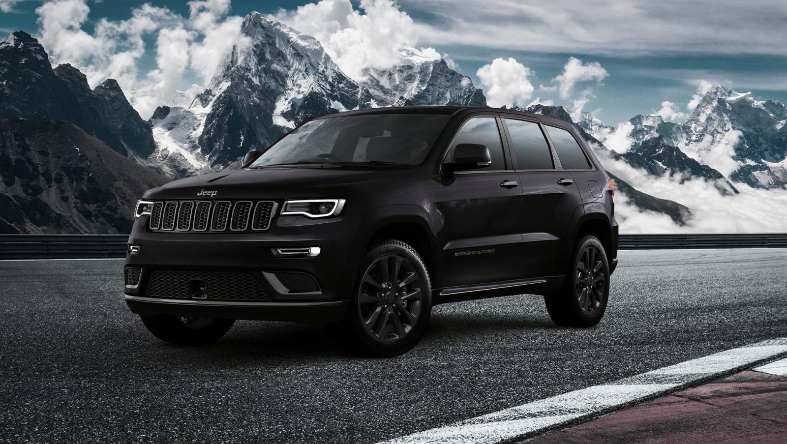 Jeep подготовил очень черный «спортивный» Grand Cherokee