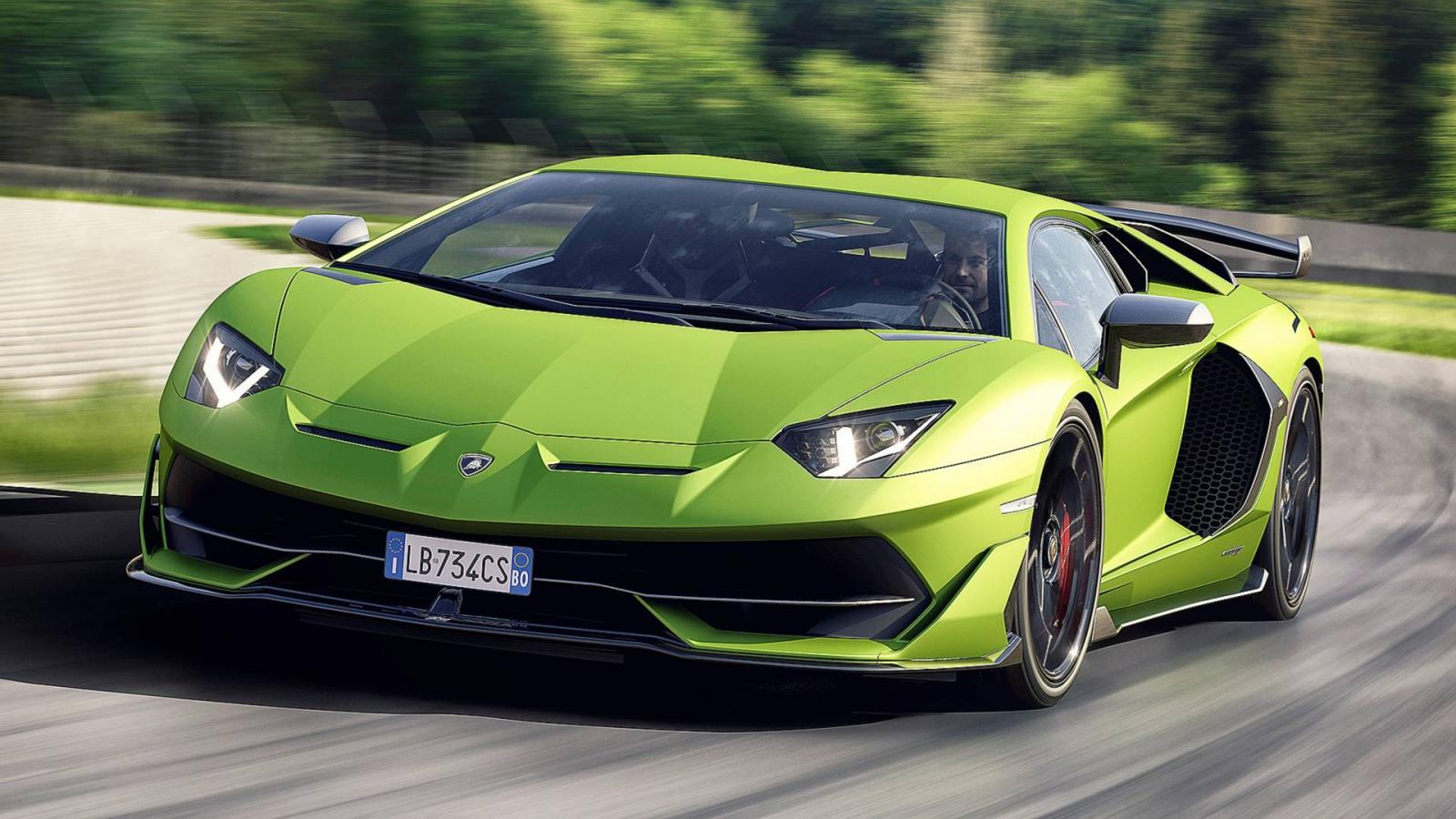 Дизайн сверхмощного суперкара Lamborghini Aventador SVJ рассекречен вглобальной паутине