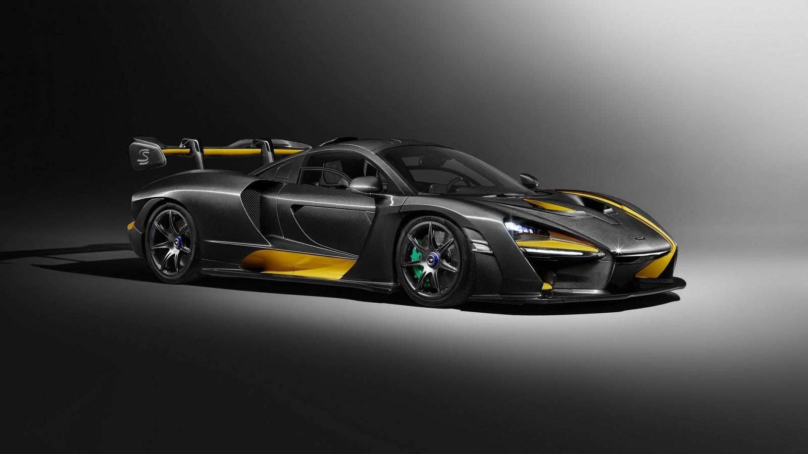 Подразделение МакЛарен представило опцию гиперкара Senna стоимостью $1 млн