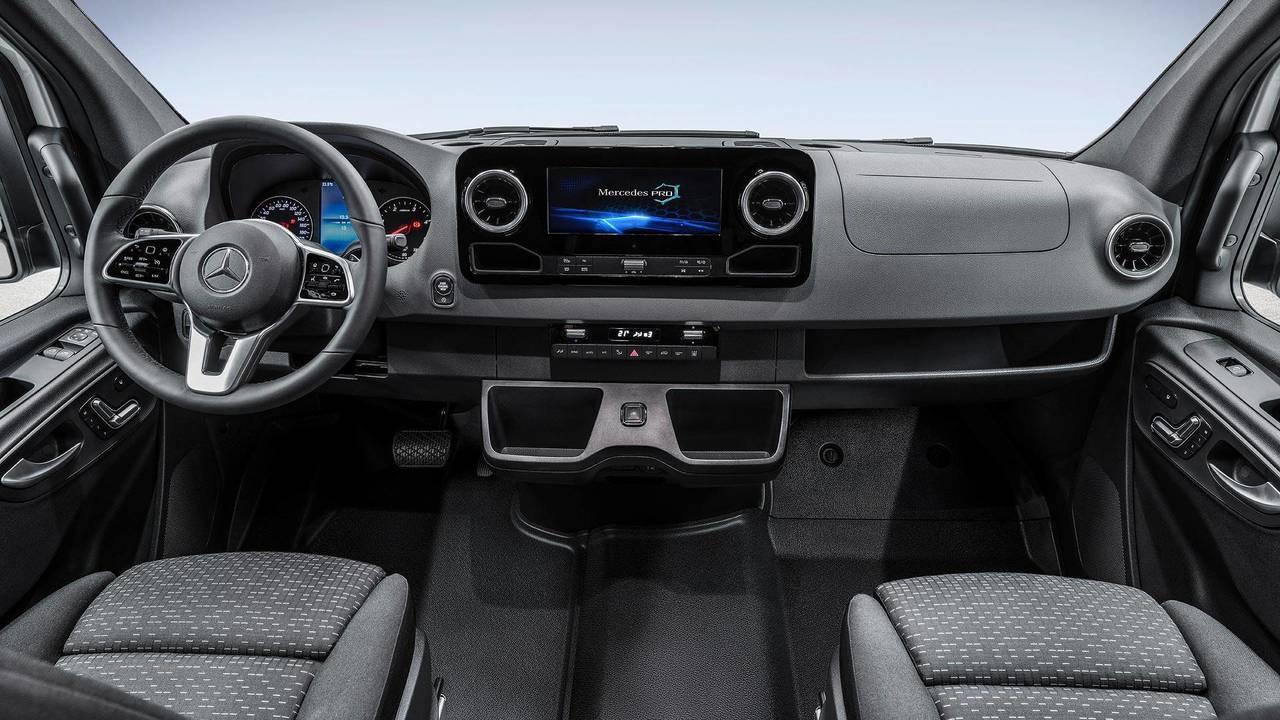 Рассекречен салон и дата выхода нового поколения Mercedes-Benz Sprinter