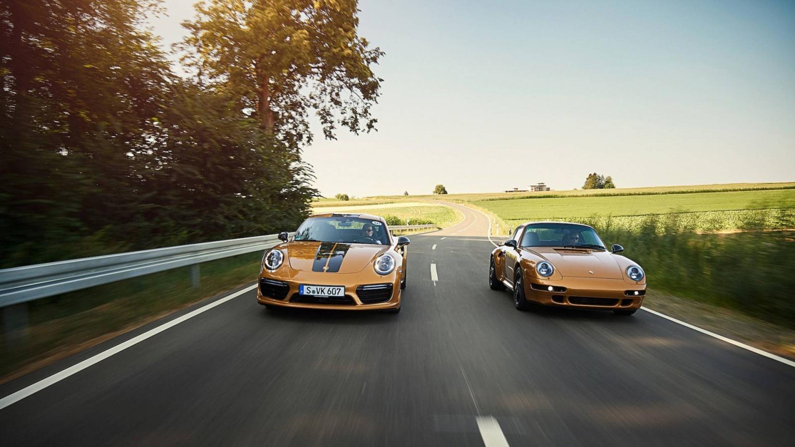 Компания Порш представила особое купе 911 Project Gold
