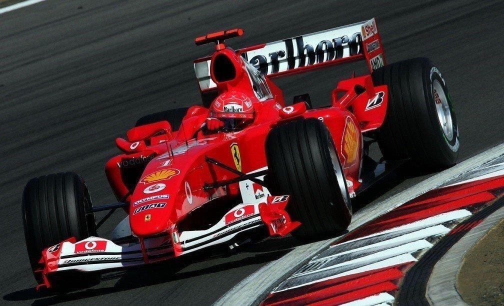 Шумахер набрал неменее 50% голосов врейтинге наилучших гонщиков Феррари