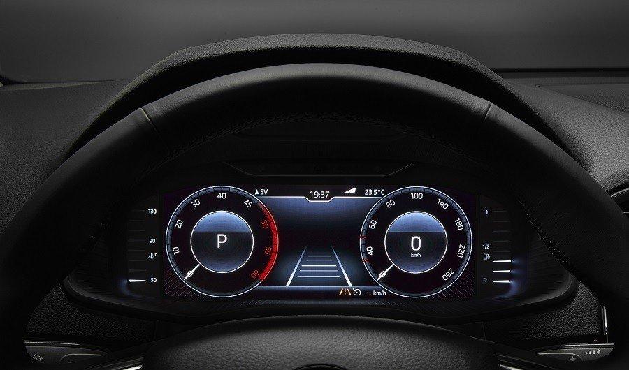 Шкода Octavia, Superb иKodiaq вРФ получили цифровую приборную панель