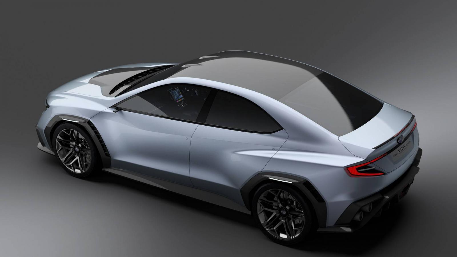 Субару анонсировала спортивный седан обновленного поколения