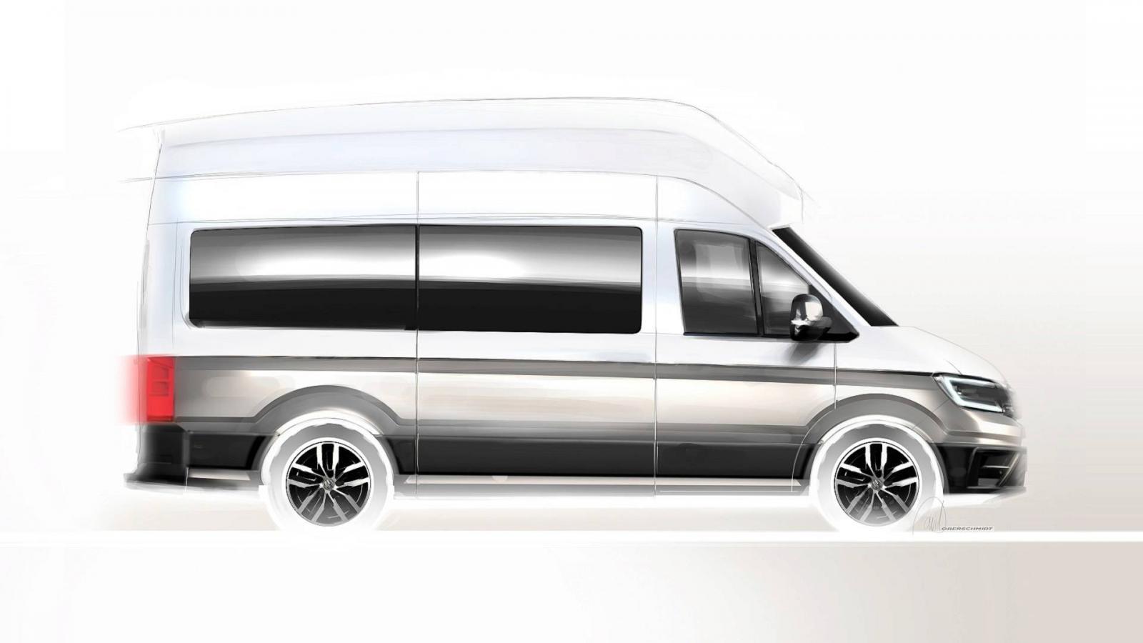 VW представит собственный автодом California XXL вконце августа