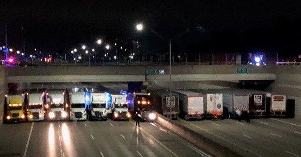 13 фургонов спасли жителя Америки отсуицида